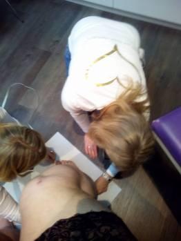 Kirsten und Co in Action